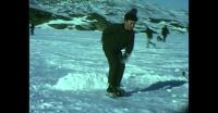 Børn på skøjter i Qaqortoq