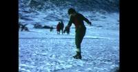 Ice skating in Qaqortoq
