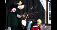 Børn til fastelavn i Nuuk